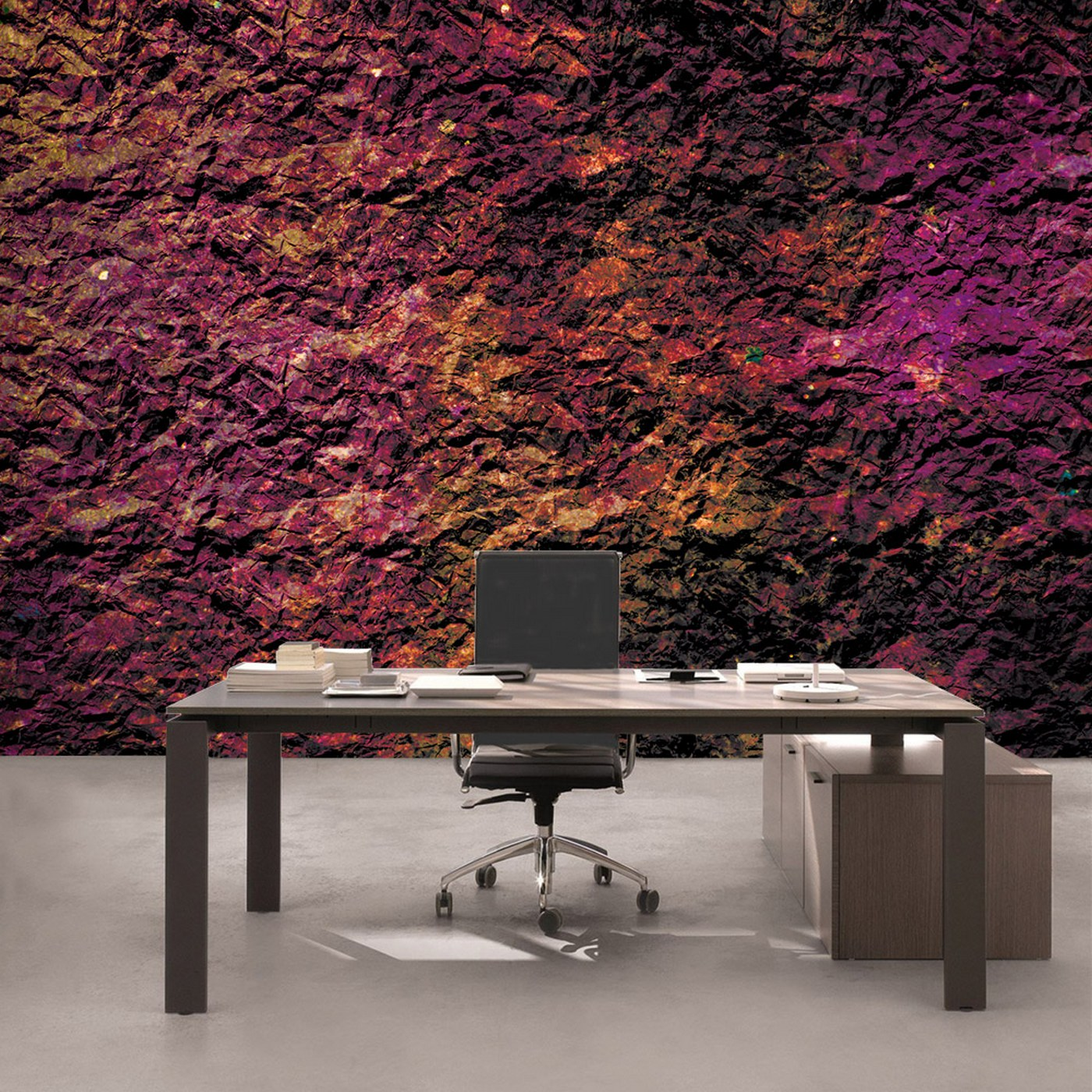 Vlies Fototapete 2511   Texturen Tapete Stein Steinwand Steinoptik Farben  Muster Lila