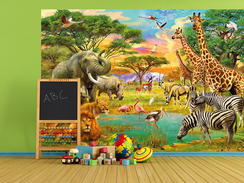 KiSS!, Fototapeten zu besten Preisen. - Fototapete Kinder AFRICAN ...
