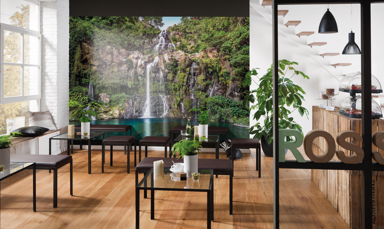 kiss fototapeten zu besten preisen vliestapete fototapete cascade naturschauspiel urwald. Black Bedroom Furniture Sets. Home Design Ideas